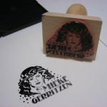 Rubber Stamp For Mieke Gerritzen
