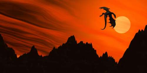Sunset Dragon by Morhin on DeviantArt |Dragons And Sunsets