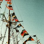 Tall Ship Rigging and Flags