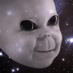 """Alien Portrait """"Baby Grey"""""""