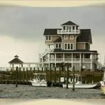 Hatteras Island stilt home