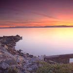 Ballena Cove Sunset