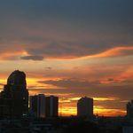 Bangkok sunset 1