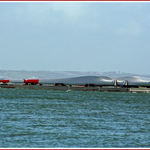 Barge Carrying Wind Turbines