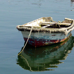 Aged boat