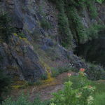 Cliffside of Ross Fountain
