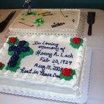 Dads Memorial Cake