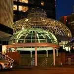 Illuminated Domes at the Four Seasons Hotel, Vancouver, BC