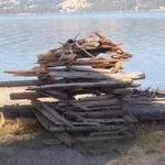 Driftwood Art, Bradbury Beach 001