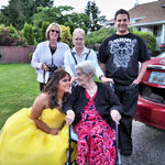 Family - Prom Day -3 Generations