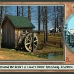 Fleetwood RV Campground at Lowe's Motor Speedway, NC