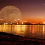 Goddess of the Moon ovr Mississippi