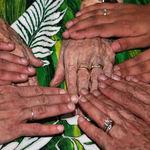 Hands, 4 Generations of womens' hands