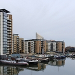 Homes and barges