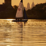 Late afternoon sail