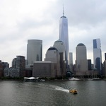 New York Skyline Hudson River