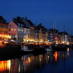 Nyhavn at night