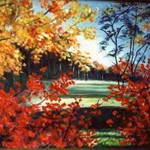 Autumn Brilliance-painting