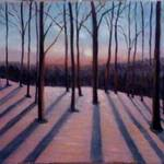 Twilight- oil painting