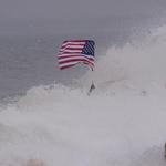 Patriotic swim