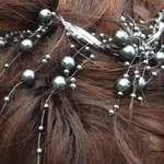 Dark Pearls Tiara