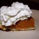 Pumpkin Pie w/ Whip Cream