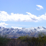 McDowell Mountains with Snow