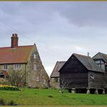 Stone Farmhouse, Outbuildings And Granary