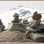 Stone Markers - Inukshuk - Cairn
