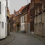 Empty Street, Brugges, Belgium