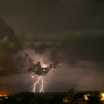 Summer Monsoon Lightning