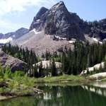 Sundial and Lake Blanche