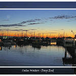 Sunset over Calm Waters - Days End