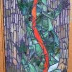 Tree Lizard Mosaic