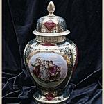 Viennese Decorative Jar