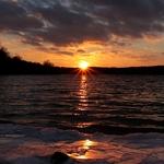 Warm Ice Sunset