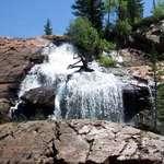 Slickrock Waterfall