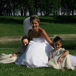 Pre-wedding pose