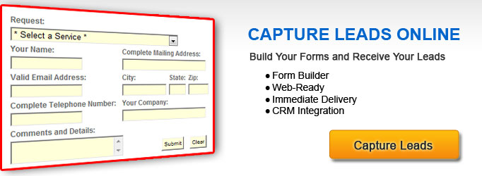 Website Tools (CMS) - Lead Capture Forms